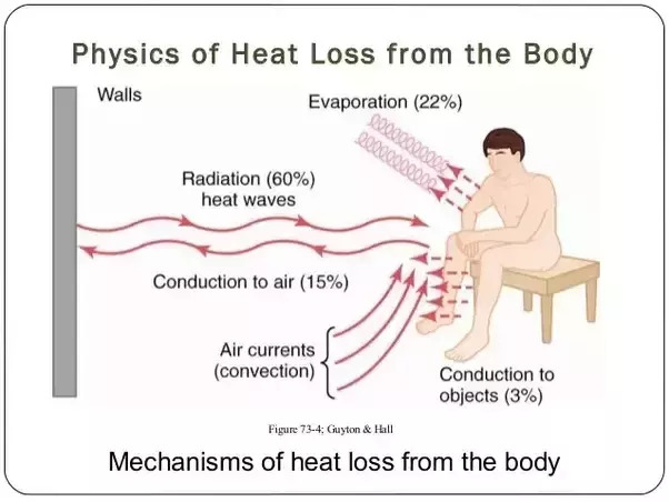 Pierderea de căldură in spatiul inconjurător