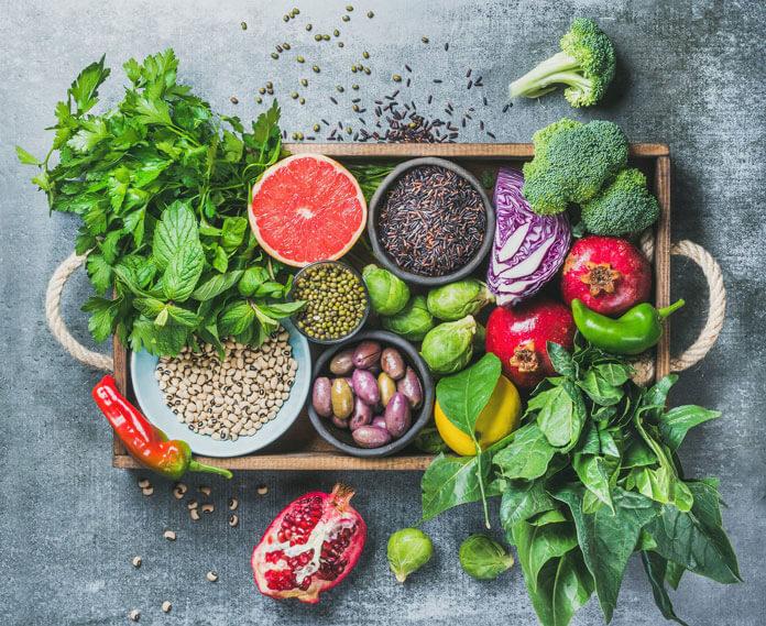 cereale legume fructe