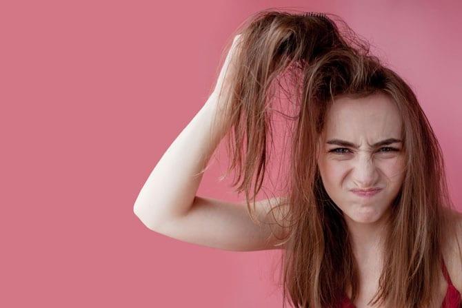 Aveți părul uscat sau gras?