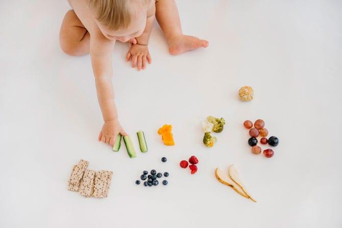 Diversificarea alimentației la sugari