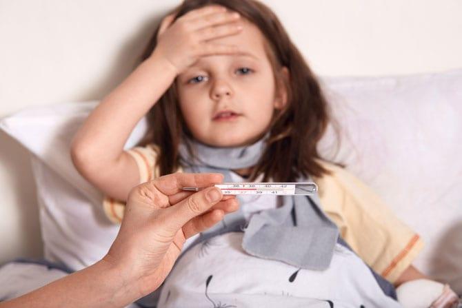 Febra - Copilul bolnav