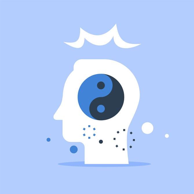 În toate ființele vii există o bipolaritate Yin și Yang