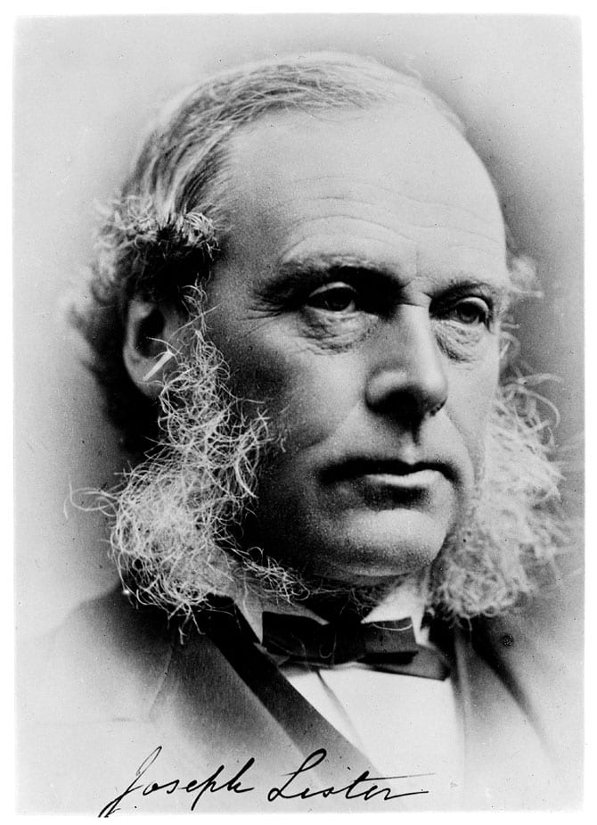 Joseph Lister și igiena din spitale