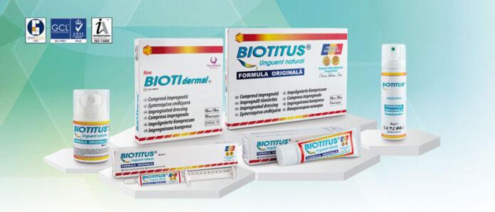 Biotitus-formula-originala BIOTITUS® Unguent pentru tratamentul și întreținerea pielii