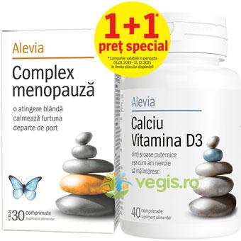 Complex Menopauza 30cpr + Calciu Vitamina D3 40cpr